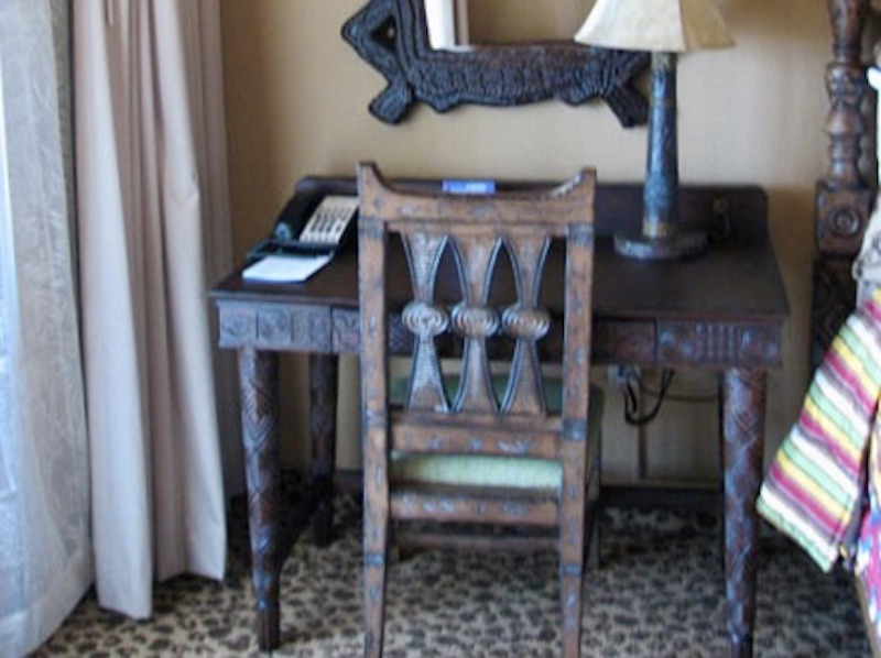 Master bedroom writing desk