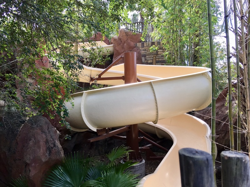 Samawati Springs pool slide