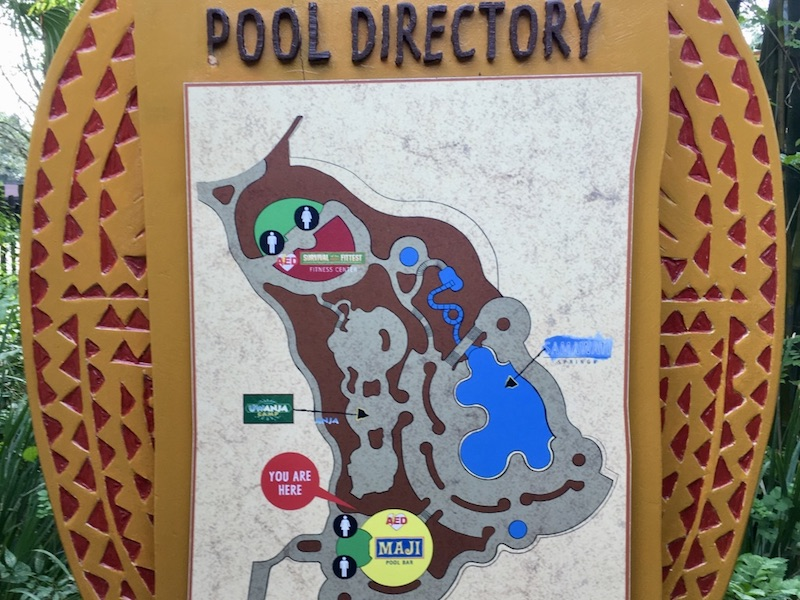Samawati Springs pool map