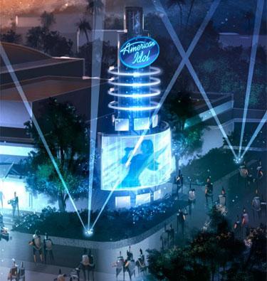 American Idol Experience (copyright 2008 Disney)