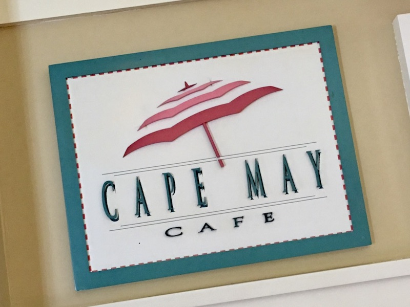 Cape May Cafe (table service dining; buffet)