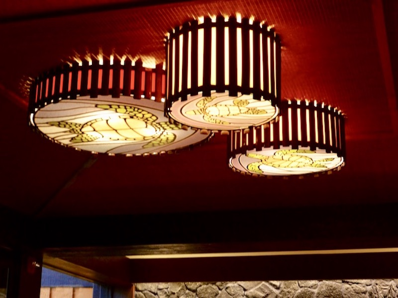 Moorea hallway light fixtures