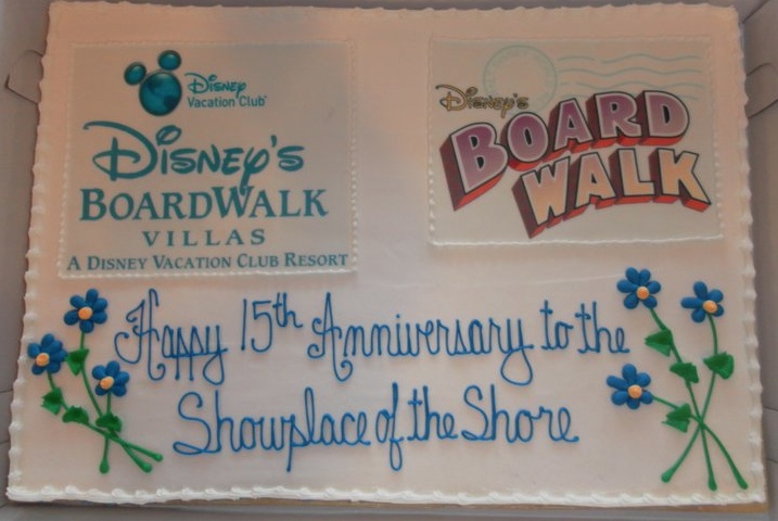 BoardWalk Birthday Cake