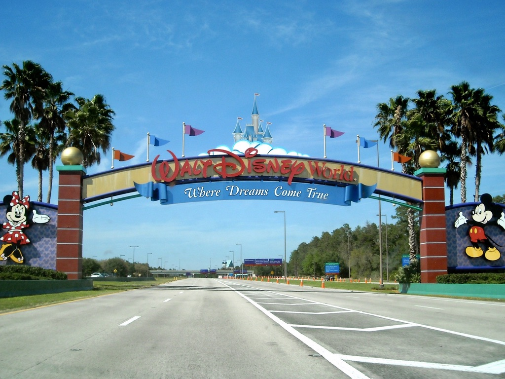 Walt Disney World Entry Arch