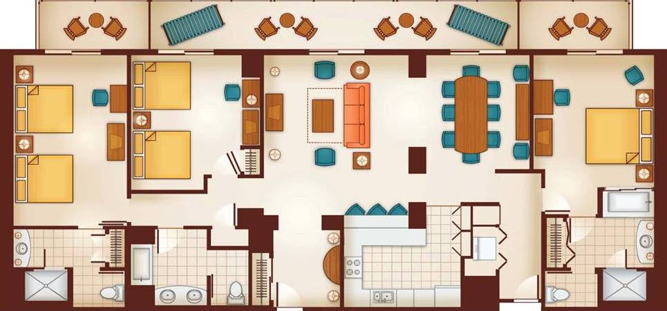Grand Villa Floorplan