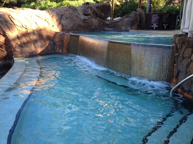 'Alohi Point adult whirlpool spa 1, lower level