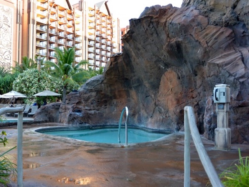 Waikolohe Pool Whirlpool spa