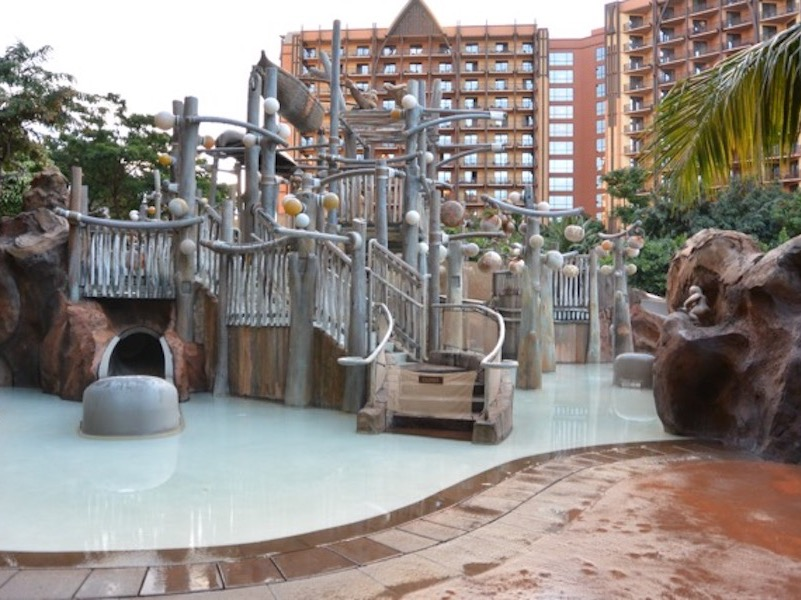 Menehune Bridge Water play area 1