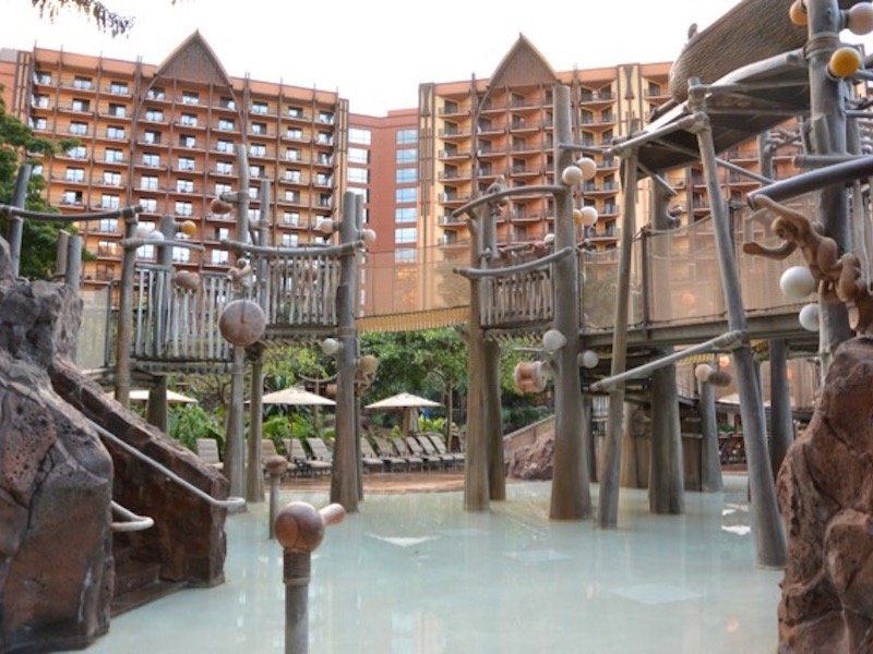 Menehune Bridge Water play area 2