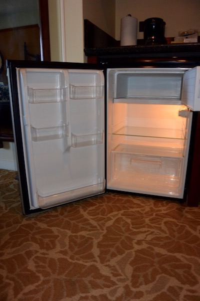 Kitchenette mini fridge