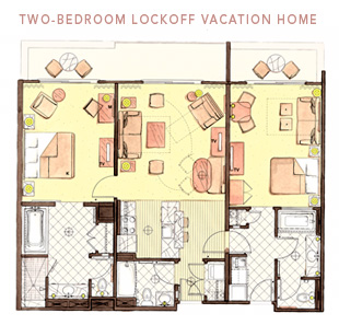 Animal Kingdom Villas Two Bedroom