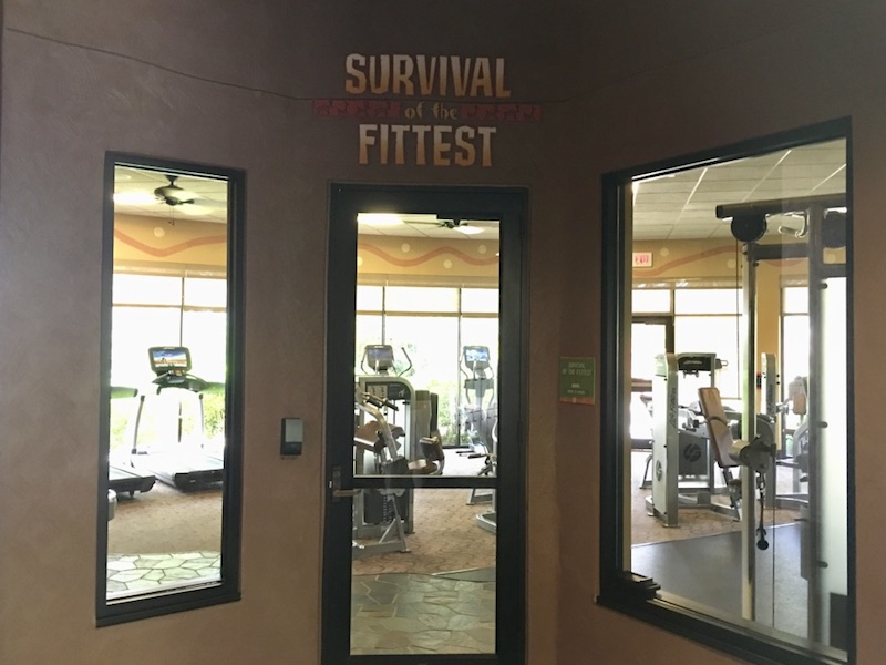 Survival of the Fittest fitness center