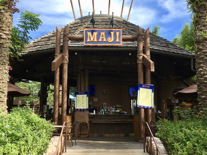 Maji pool bar