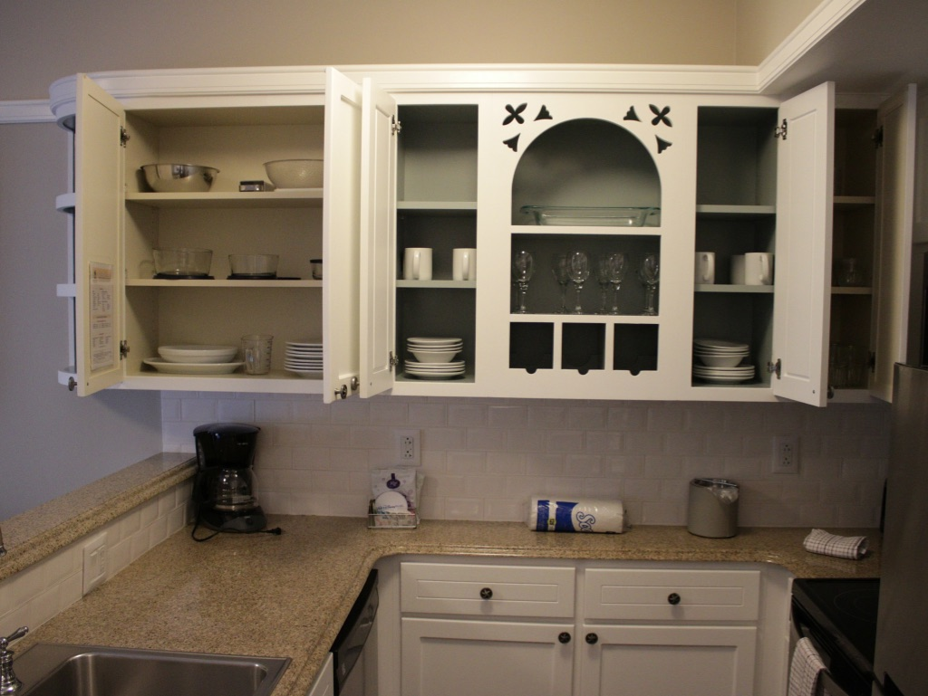 Kitchen cabinet detail