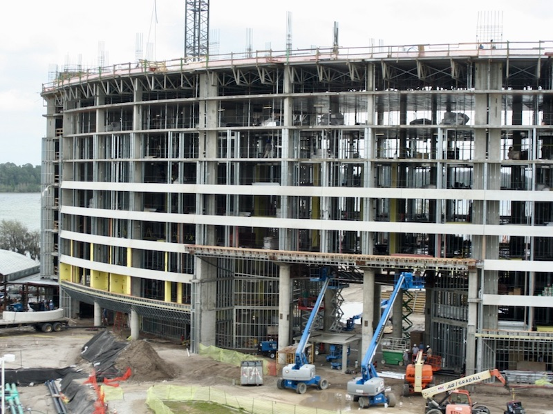 Construction progress - March 2008