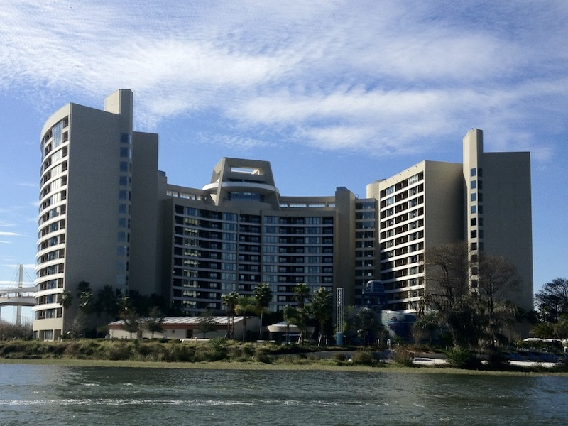 Building exterior as viewed from Bay Lake