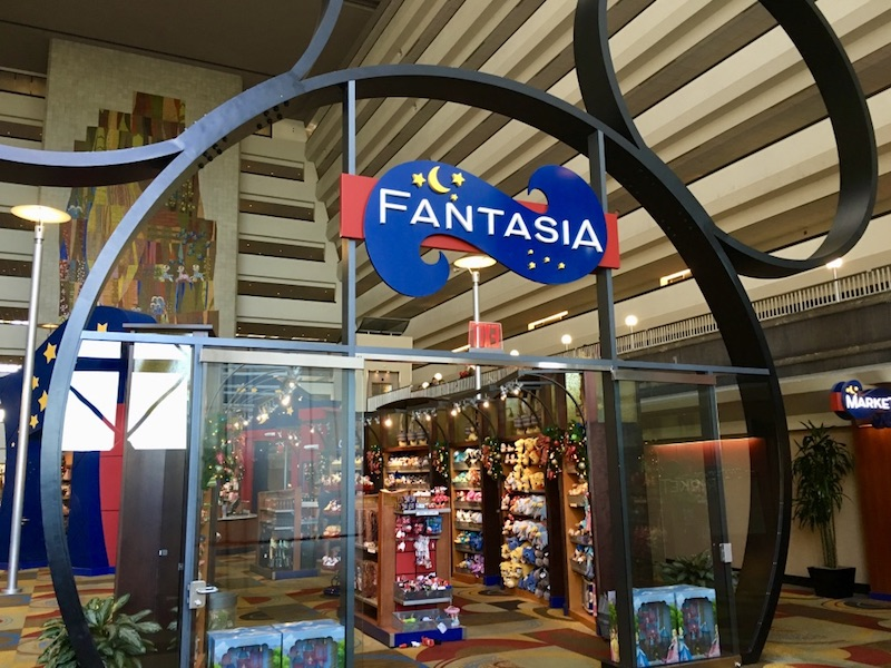 Fantasia merchandise shop in Contemporary Tower