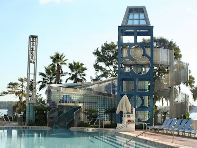 Bay Cove Pool slide