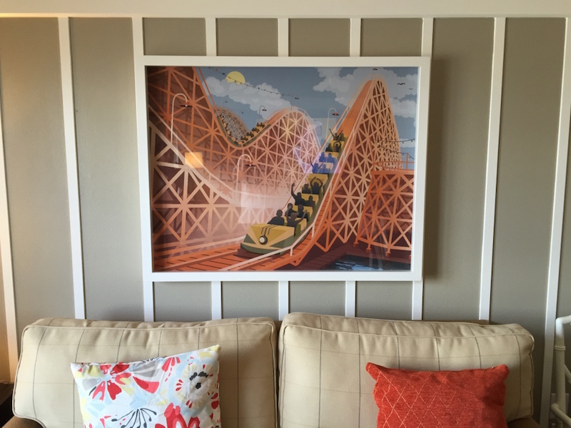 Living room artwork