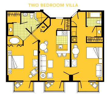 BoardWalk Villas Two Bedroom