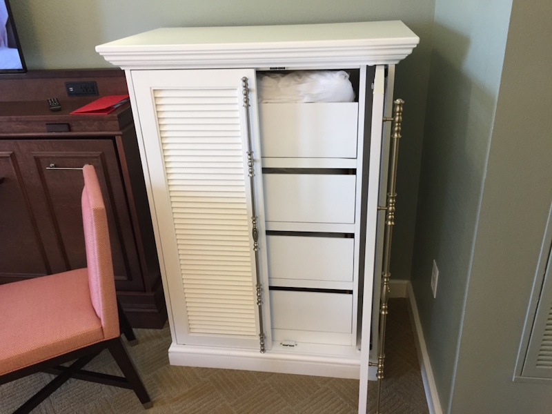 Storage armoire (open)