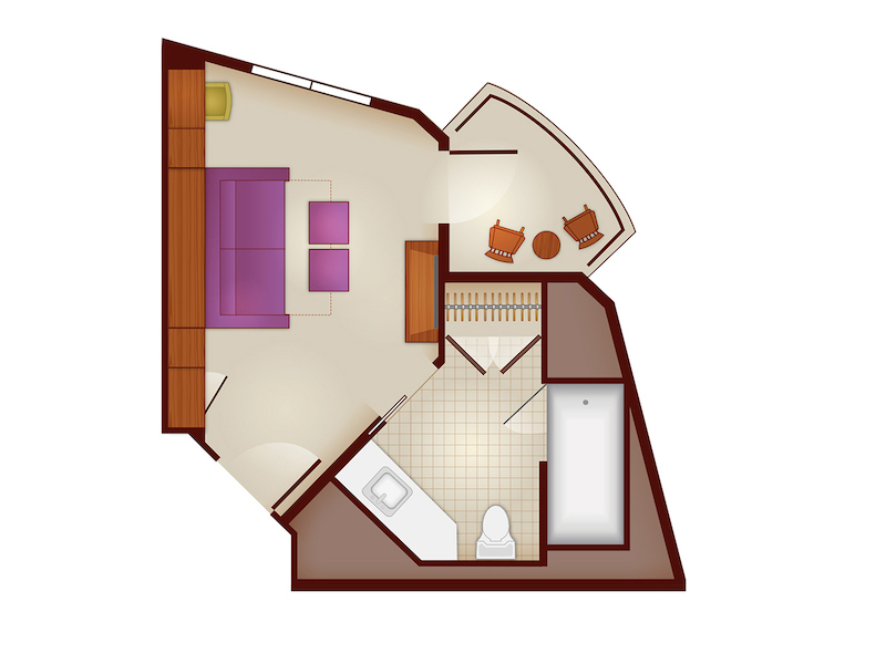 Tower Studio Floorplan