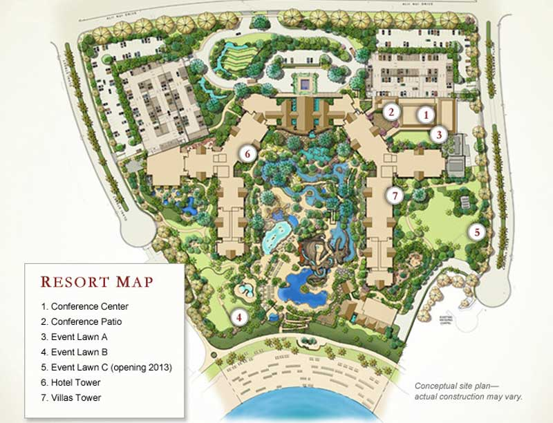 Aulani Map 2009