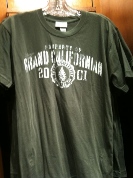 Grand Californian Green Tee
