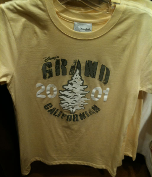Grand Californian Yellow Tee