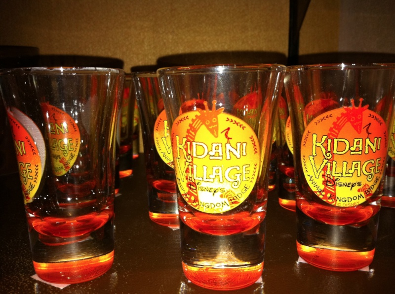 Kidani Village shot glass