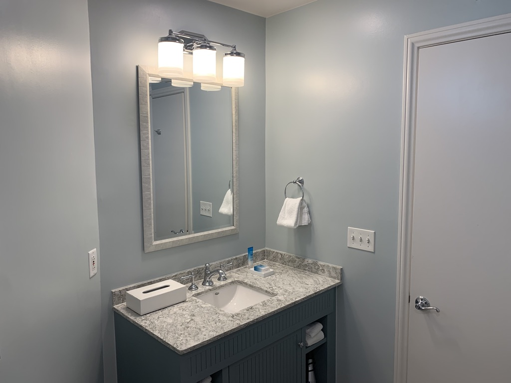 Studio bathroom vanity
