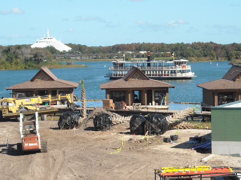 Resort Construction - December 2014