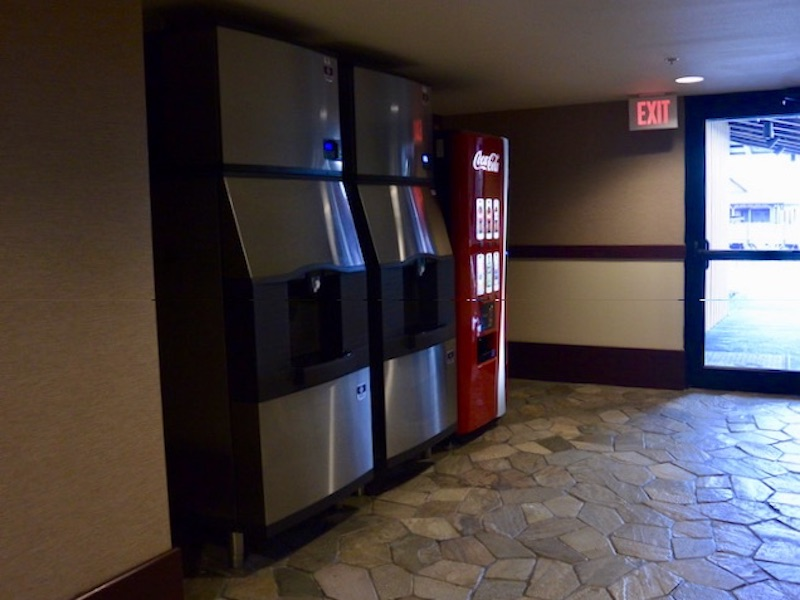 Moorea ice & vending machines off lobby