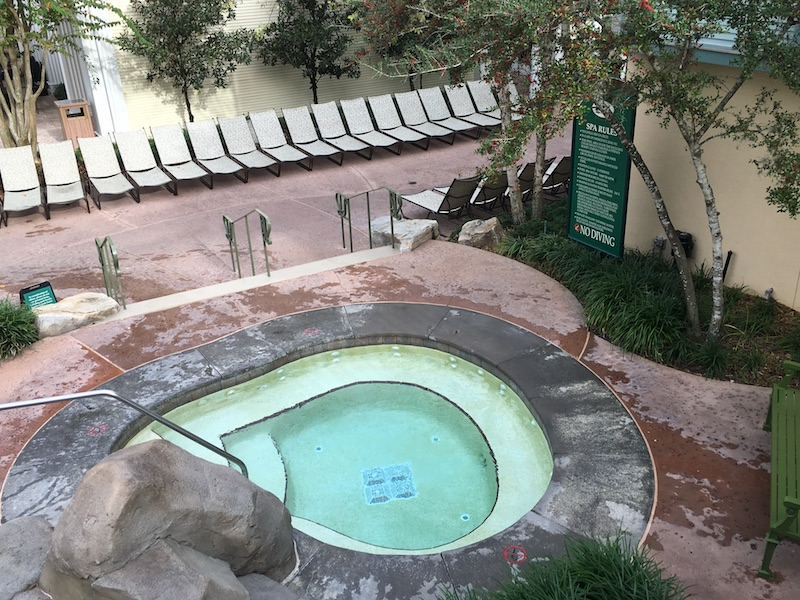 High Rock Spring hot tub