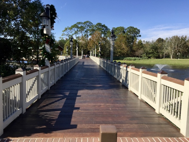Walkway to Disney Springs