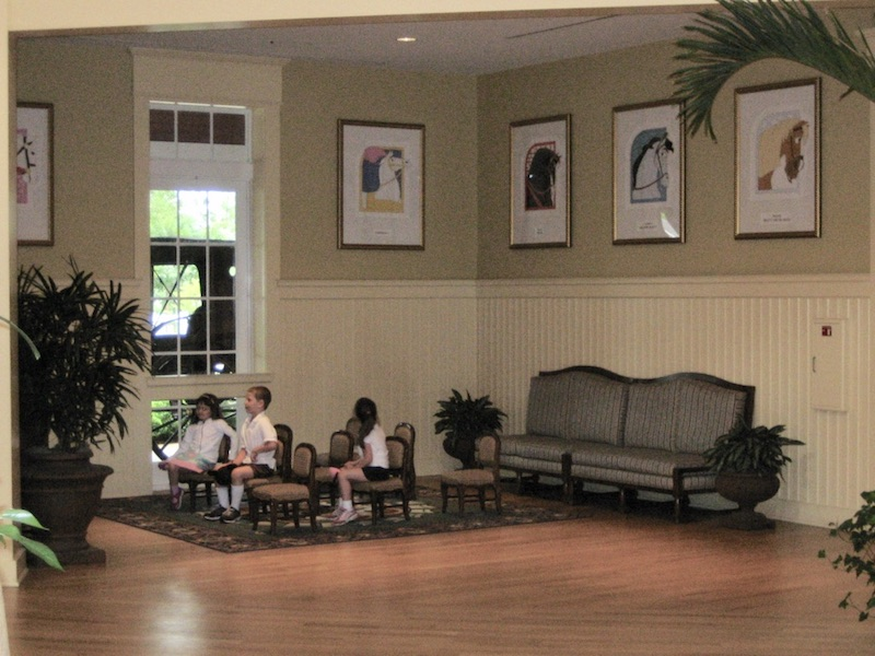 Kids lobby waiting area