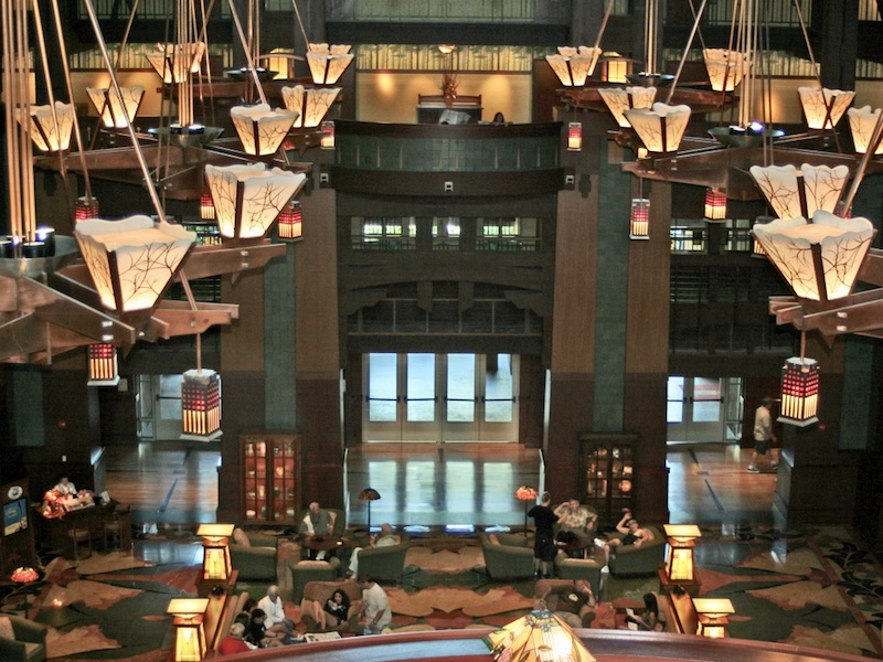 mt_ignore: Grand Californian Lobby