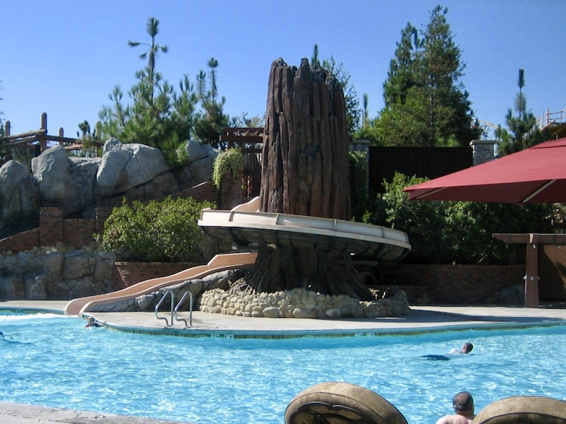 Redwood Pool slide
