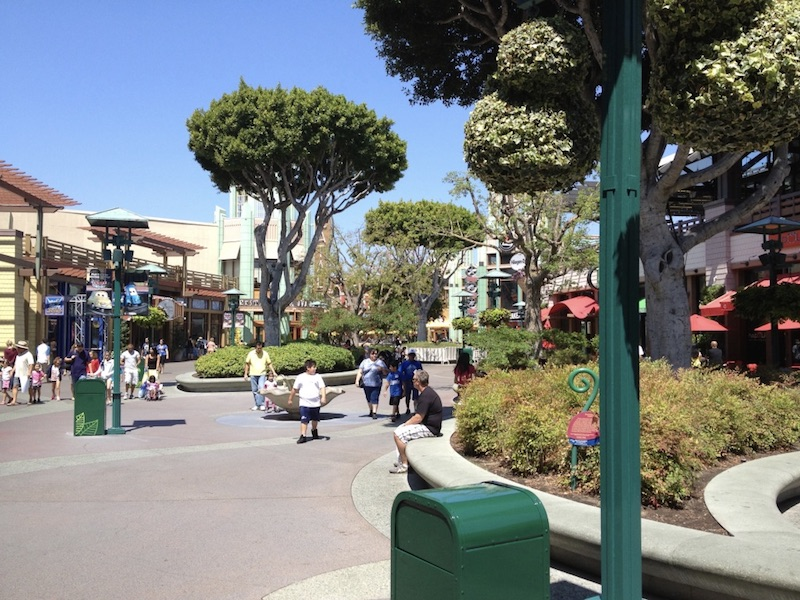 Downtown Disney shopping district