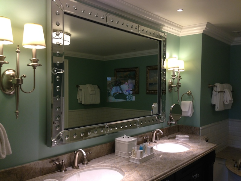 Grand villa master bathroom vanity