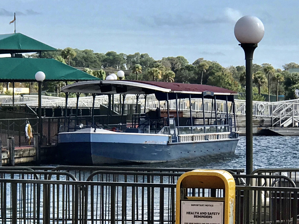 Magic Kingdom Boat - December 2020