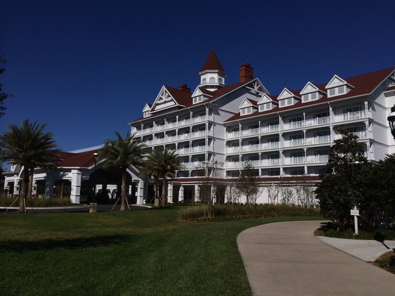 Grand Floridian villa building