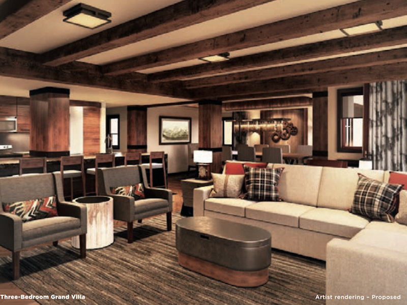Concept Art - Copper Creek Grand Villa interior