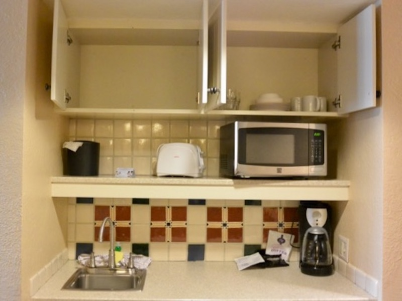 Kitchenette upper detail
